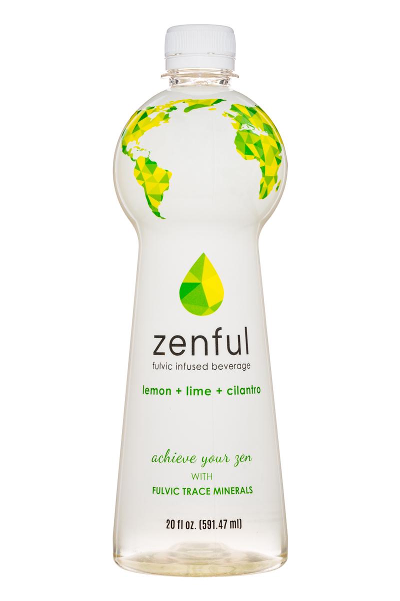 Zenful: Zenful-20oz-Fulvic-LemonLimeCilantro-Front