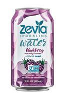 Zevia Sparkling Water: Zevia-12oz-SparklingWater-Blackberry-Front
