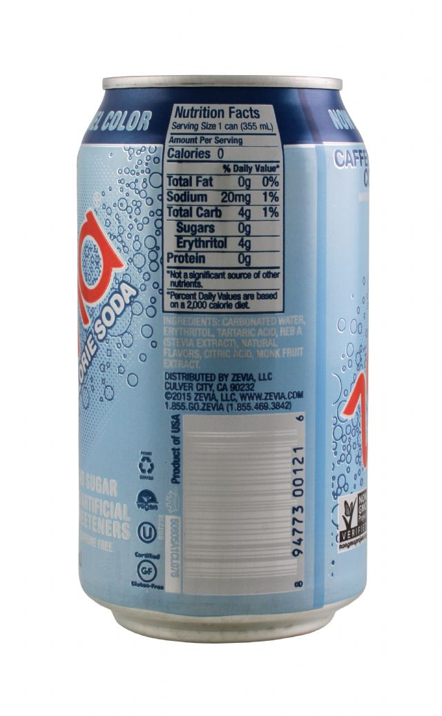 Zevia: Zevia CaffCola Facts