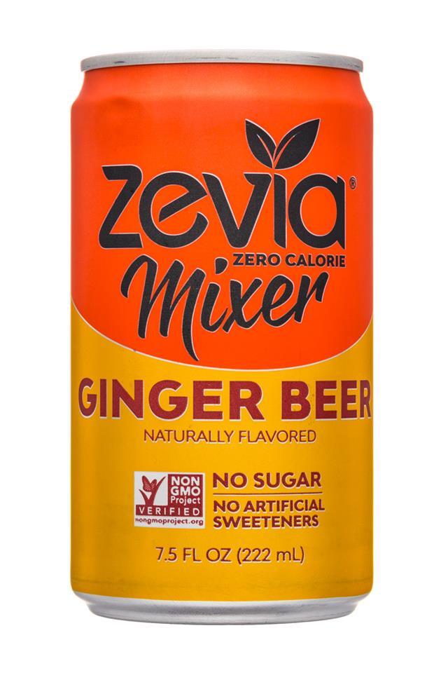 Zevia: Zevia-8oz-Mixer-GingerBeer-Front