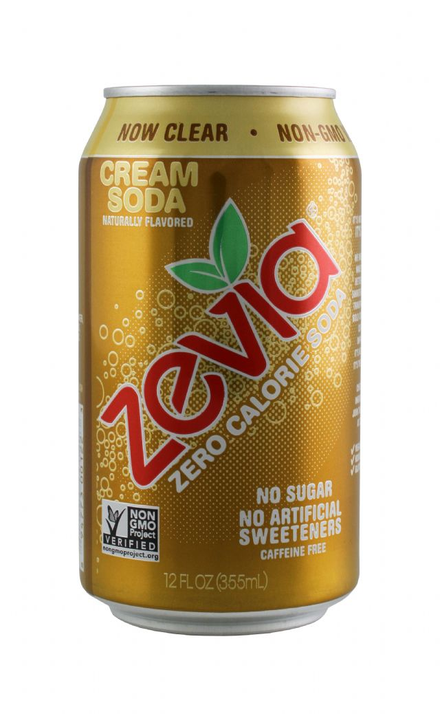 Zevia: Zevia Cream Front
