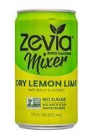 Zevia: Zevia-8oz-Mixer-DryLemonLime-Front