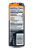 Zevia: Zevia-ZeroCalorieEnergy-12oz-MangoGinger-Facts