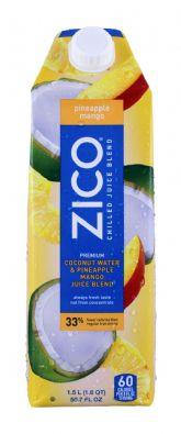 Coconut Water & Pineapple Mango Blend