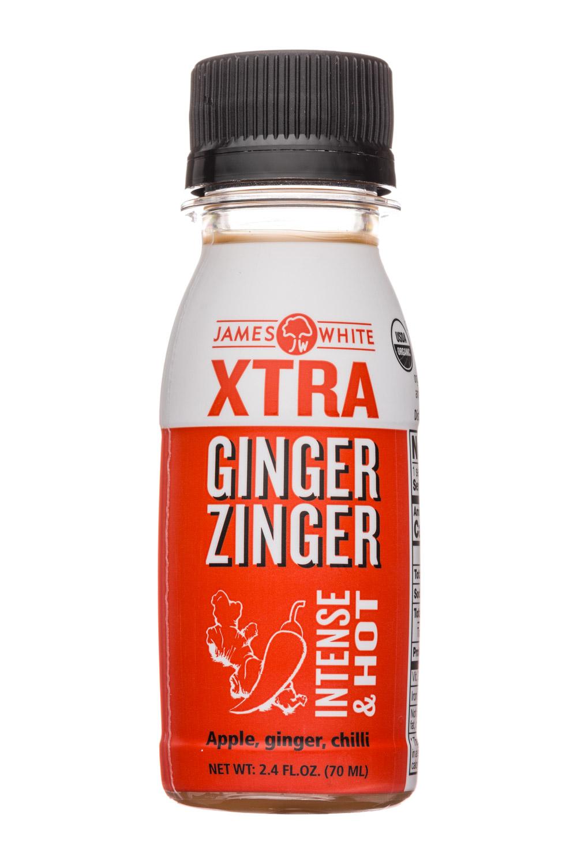 Zinger Shot: JamesWhite-2oz-Zinger-GingerHot-Front