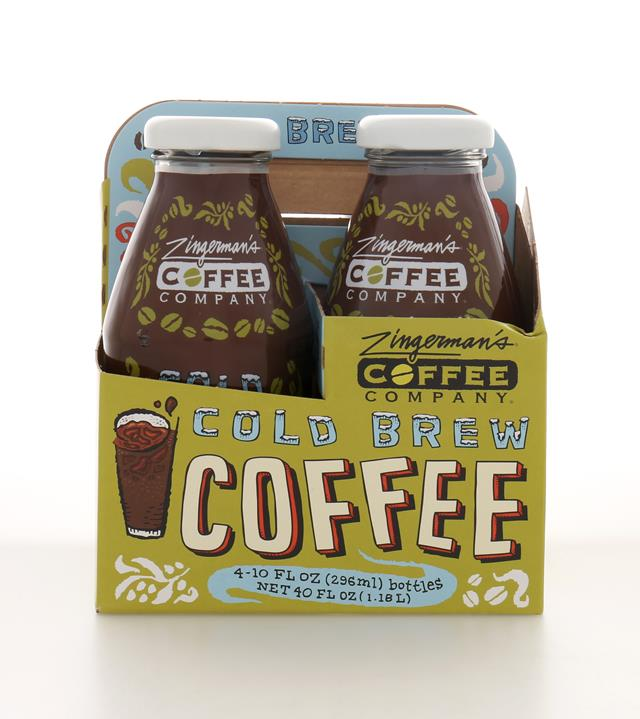Zingerman's Coffee Company: ZingermansCoffeeCo ColdBrew4Pack Front