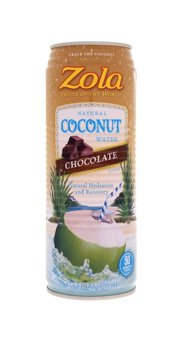 Zola Coconut Water: Zola Choco Front
