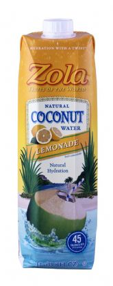 Lemonade Coconut Water
