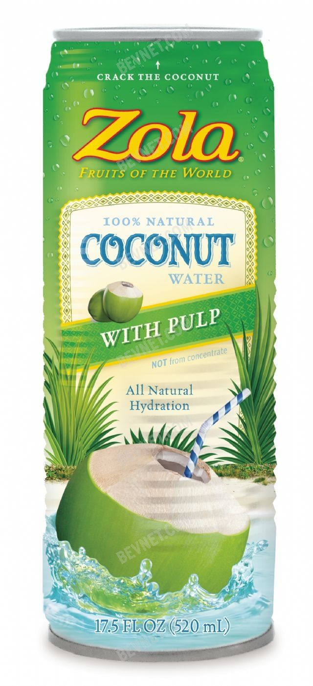 Zola Coconut Water: