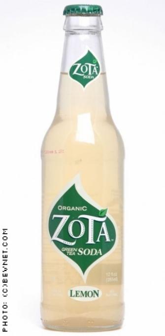 Zota Green Tea Soda: zota-lemon.jpg