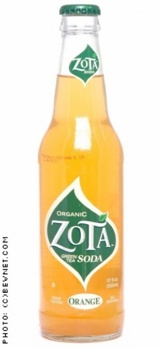 Zota Green Tea Soda: zota-orange.jpg