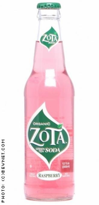 Zota Green Tea Soda: zota-raspberry.jpg
