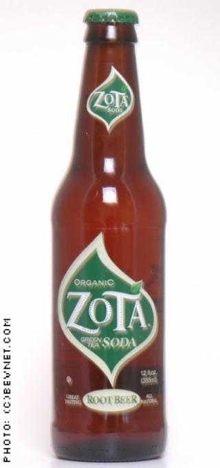 Zota Green Tea Soda: zota-root_beer.jpg