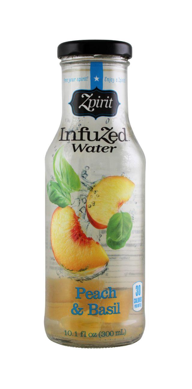 Zpirit Infuzed Water: Zpirit PeachBasil Front
