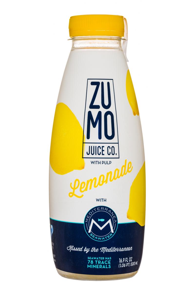 ZuMo: Zumo-SeawaterJuice-17oz-Lemonade-Front