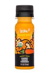 Veggie Shot: Carrot Ginger Turmeric