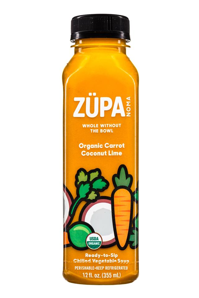 Zupa Noma: Zupa-12oz-Soup-CarrotCoconutLime-Front
