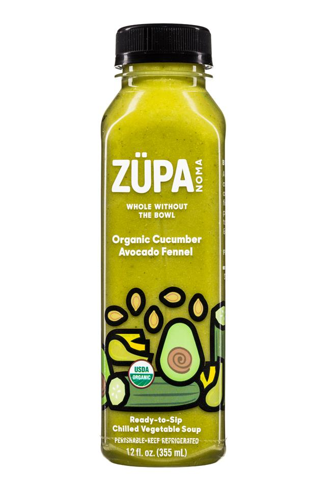 Zupa Noma: Zupa-12oz-Soup-CucumberAvocadoFennel-Front