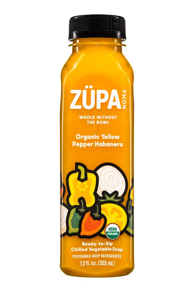 Zupa Noma: Zupa-12oz-Soup-YellowPepperHabanero-Front