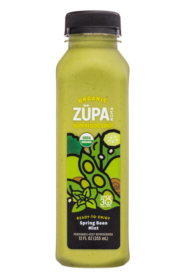 Zupa Noma: Zupa-12oz-SuperfoodSoup-SpringBeanMint-Front