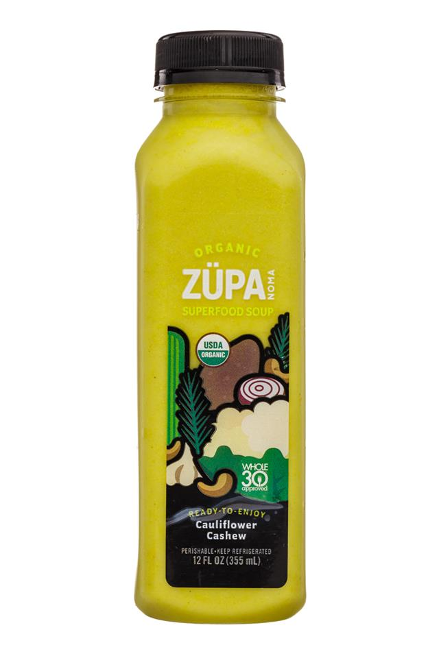 Zupa Noma: ZupaNoma-12oz-Soup-CauliflowerCashew-Front